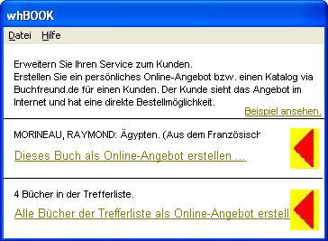 Erstellung Von Online Angeboten Mit Der Antiquariatssoftware Whbook